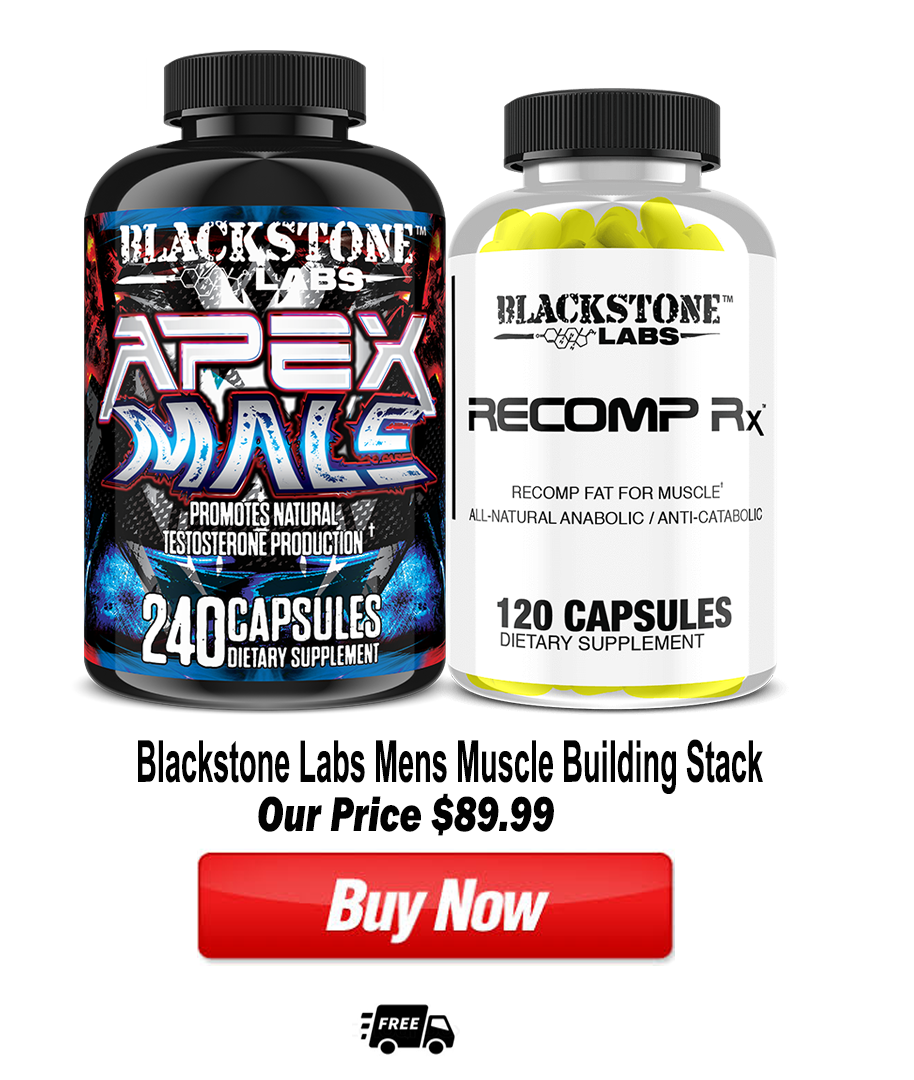 Blackstone Labs Mens Muscle Building Stack